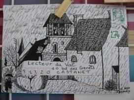 Art postal : transformez votre enveloppe en œuvre sur les dix mots ! | Dis-moi dix mots | Arts et FLE | Scoop.it