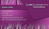 Business card template Tropical | Cheap Business Cards | UK Ecommerce Software Solutions | Online Shopping cart | Scoop.it
