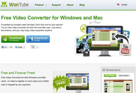 Free Video Converter for Windows and Mac | WonTube | A New Society, a new education! | Scoop.it