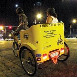 Forbes steps inside Austin's pedicab industry - Austin Business Journal (blog) | Pedicabs in the Media! | Scoop.it