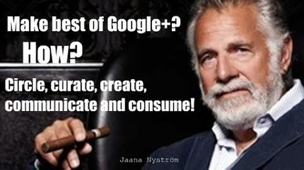 Don't try to please anyone on Google+: Be yourself! | GooglePlus | Scoop.it