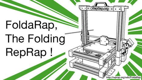 FoldaRap, The Folding RepRap - Ulule | Fourre tout Numerik | Scoop.it