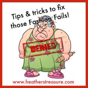 Tips and tricks to fix those fashion fails! | Beauty Tips | Scoop.it