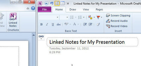 Linked Notes in PowerPoint using OneNote | Useful Technology | Scoop.it