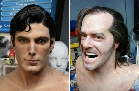 Michigan Based Artist Creates Amazingly Realistic Wax Busts of Famous Actors and Movie Characters | Culture and Fun - Art | Scoop.it