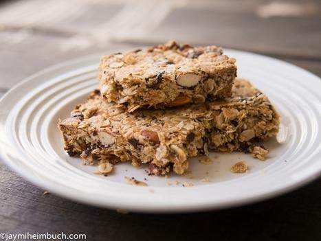 5-Ingredient Breakfast Granola Bars | My Vegan recipes | Scoop.it
