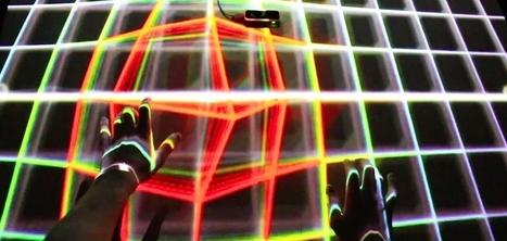 Avec LEAP Motion, cet artiste transforme n'importe quelle surface en instrument de musique | Cabinet de curiosités numériques | Scoop.it
