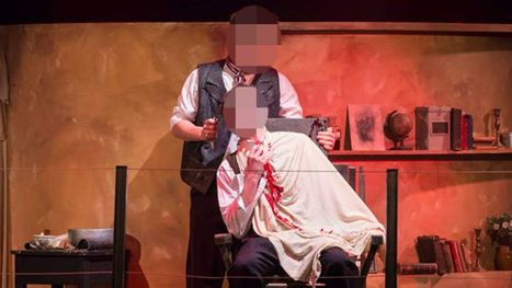 Boys' Throats Cut In Sweeney Todd Show Mishap   Workplace Accidents   Scoop.it