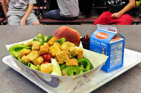 As Schools Buy More Local Food, Kids Throw Less Food In The Trash : The Salt : NPR | Ethics of eating | Scoop.it