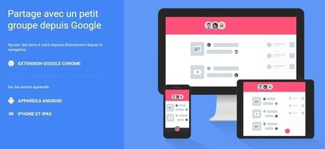 Google lance Google Spaces : un nouveau réseau social, entre Google+ et les groupes Facebook | L'actualité des réseaux sociaux | Scoop.it