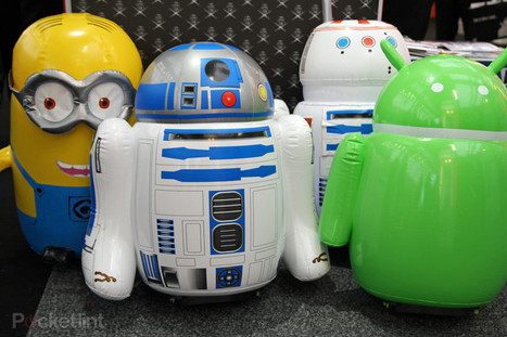 Radio controlled Star Wars R5-D4 inflatable and full-sized R2-D2 coming soon - Pocket-lint | Actualité robotique | Scoop.it