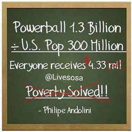 """9NEWS on Instagram: """"If you've been on social media recently, you've seen the viral post claiming the $1.4 billion #Powerball jackpot could solve #poverty. The…"""" 