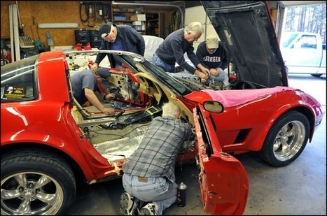 Corvette Club steps up and honours a returning soldier.   Vette-News   Scoop.it