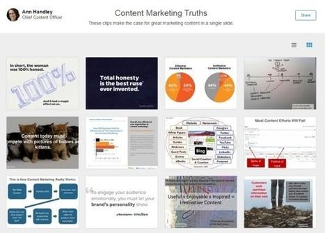 Linkedin SlideShare, des Clipboards, pour épingler des présentations comme sur Pinterest | Geeks | Scoop.it