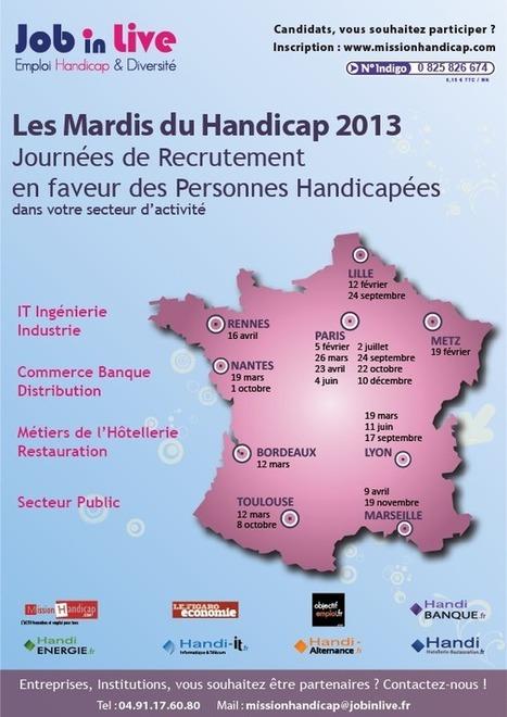 Forum Recrutement Handicap - MissionHandicap | qareerup | Scoop.it