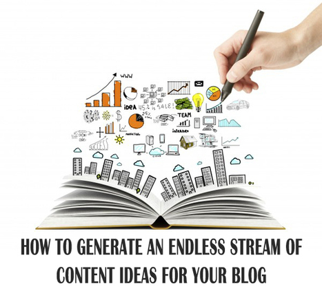 How To Generate An Endless Stream Of Content Ideas For Your Blog | Internet Marketing Z6 | Scoop.it