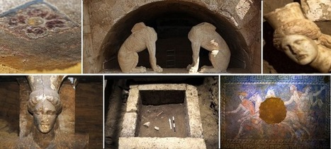 Amphipolis Tomb Mystery Remains Unsolved Due to Greek Crisis   LVDVS CHIRONIS 3.0   Scoop.it