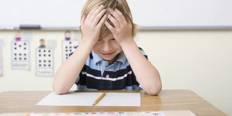 Is Your Child Stressed About a Test? Try this Simple Shift   Managing Anger and Stress   Scoop.it