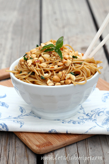 Spicy Sesame Noodles with Peanuts   Recipes (Chris)   Scoop.it