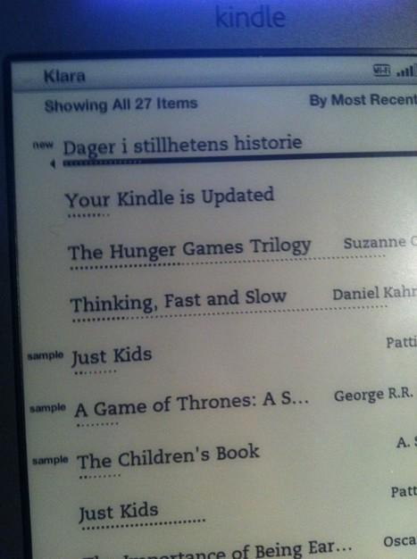 Jeg har kjøpt en norsk e-bok til Kindle! | bokmerker.org | Ebøker i bibliotek | Scoop.it