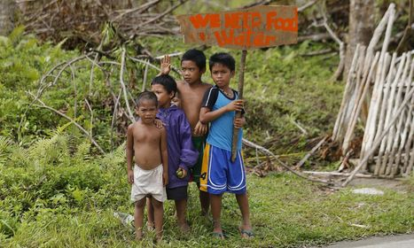 Typhoon Haiyan: children in disaster zone are vulnerable, warns Unicef | Geography in the classroom | Scoop.it