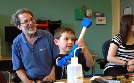 e-NABLE Celebrates Incredible 2014 with 700+ Prosthetic Hands Created, 3000 New Members & More | tecnologia s sustentabilidade | Scoop.it