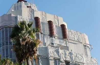 Ever Wonder Why WeHo's Sunset Tower Is Decorated With Plants, Animals and ... - WEHOville   West Hollywood   Scoop.it