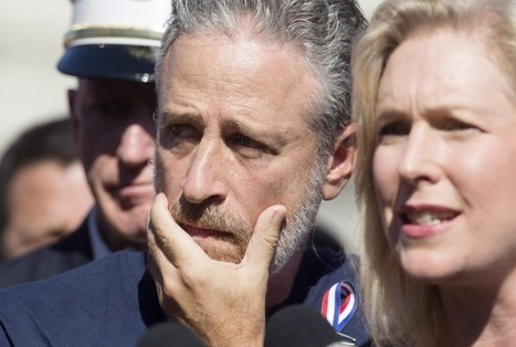 Jon Stewart comes to Washington to push 9/11 first responder bill | AP Government & Politics | Scoop.it