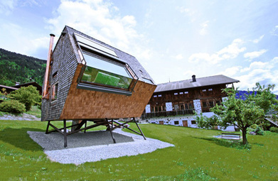 Maximizing Views with Minimal Environmental Impact: House Ufogel in Austria | sustainable architecture | Scoop.it