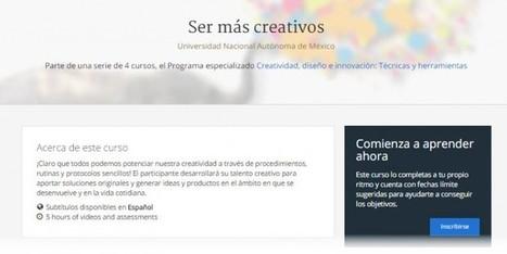 Dos cursos online y gratuitos sobre creatividad y diseño | Estrategias de Gestión del Conocimiento e Innovación Educativa: | Scoop.it