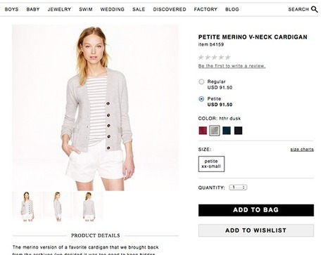 J.Crew Brings Petite Denim and Sweaters Back for Select Styles - DelectablyChic! | Fashion and Style | Scoop.it