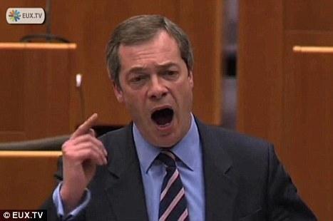 Débarrassons-nous de l'euro et restaurons la dignité humaine (Farage) | Le scoop eco | Scoop.it