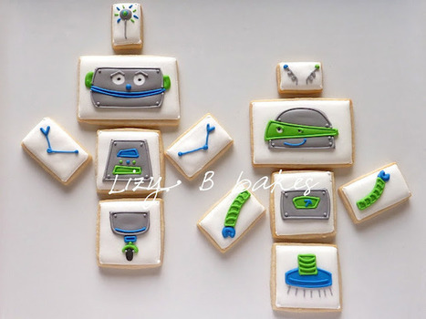Lizy B: Mix 'n' Match Robot Cookies! | The Robot Times | Scoop.it