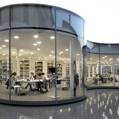 New Town Library in Maranello by Arata Isozaki and Andrea Maffei | Library world, new trends, technologies | Scoop.it