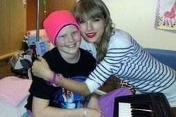 Taylor Swift Visits 10-Year-Old Cancer Patient | Country Music Today | Scoop.it