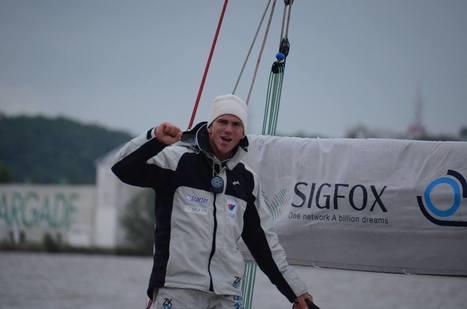 Exceptionnelle performance de Xavier Macaire qui termine La Solitaire du Figaro à la 2ème place ! | SIGFOX (FR) | Scoop.it