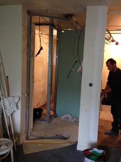 Rénovation studio Paris 11e : début des travaux | Avant Après | Scoop.it