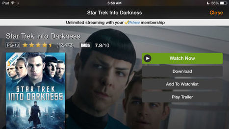 Amazon Prime Video Gets Offline Playback on iOS and Android | Informática Educativa y TIC | Scoop.it