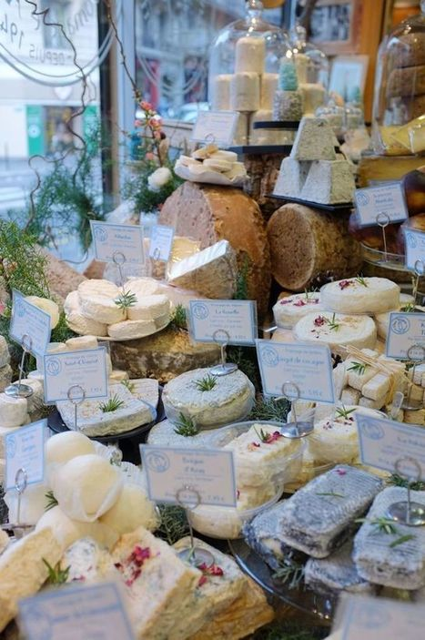 Les dix meilleurs fromagers de Paris | The Voice of Cheese | Scoop.it