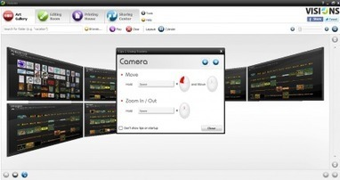 Free Photo Editor with 3D Interface: Visions Photo Editor | Nouvelles des TICE | Scoop.it