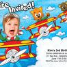 kids birthday invites