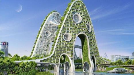 Paris en 2050 : des tours vertes à perte de vue ? | Cities and buildings of Tomorrow | Scoop.it