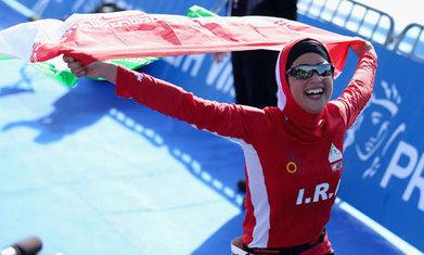 Meet Shirin Gerami, Iran's first female triathlete | World news ... | Triathlon & Travel: New & Noteworthy | Scoop.it