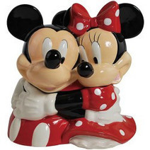 Westland Giftware Ceramic Cookie Jar, Mickey and Minnie Hugging - Kitchen Things | Kitchen Stuff | Scoop.it