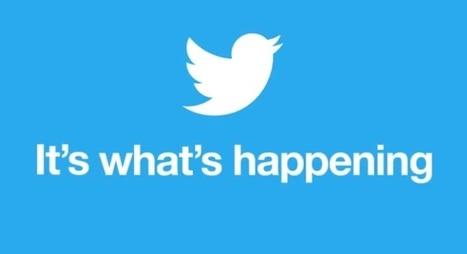 Twitter fait la promo de Twitter pour bien expliquer Twitter | Chiffres et infographies | Scoop.it