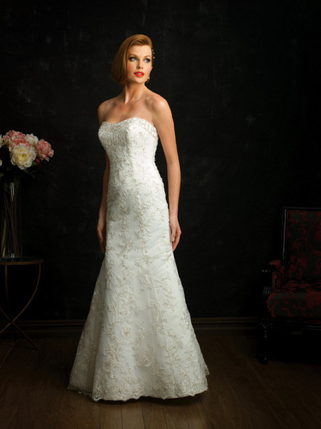 Rent Allure Bridals Lace Wedding Dress Online | RentTheDress.com | Wedding Dresses | Scoop.it