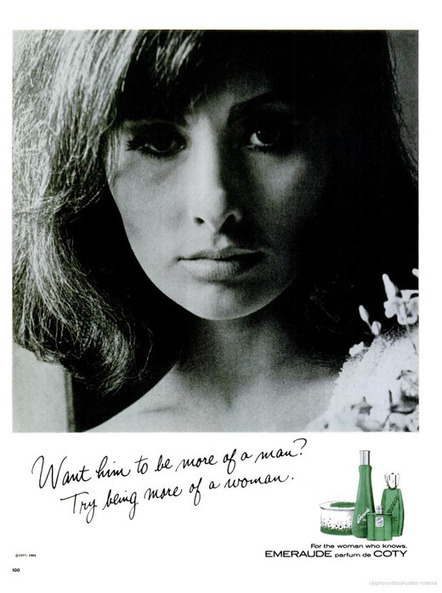 Want him to be more of a Man? Try being more of a woman | A Cultural History of Advertising | Scoop.it