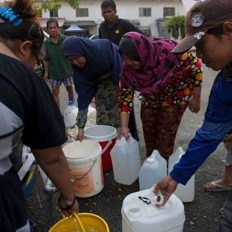 "Drought forces Malaysia to expand water rationing (""water supply down to 50% & summer is yet to come"") 