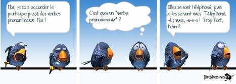 Accorder le participe passé des verbes pronominaux   Le français des PROs   Scoop.it