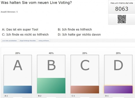 Live Voting mit ILIAS | E-Learning an der Johannes Gutenberg-Universität Mainz | LMS & mobile learning | Scoop.it